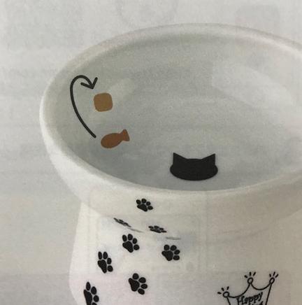 猫壱 脚付フードボウル カタログ画像 ②