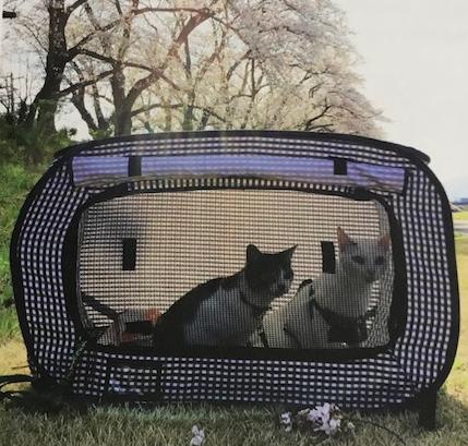 猫壱 ポータブルケージ ピクニック