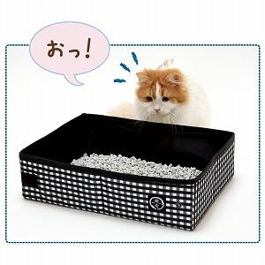 猫壱 ポータブルトイレ お!?